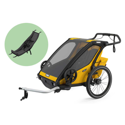 Thule Chariot Fahrradanhänger Set + Thule Babysitz