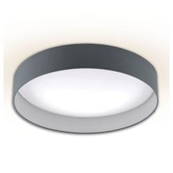 Licht-Trend Deckenleuchte Palo LED mit Textilschirm in Grau
