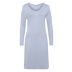 Hanro Nachthemd Bea blau L