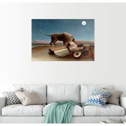 Posterlounge Wandbild, Die schlafende Zigeunerin 60 cm x 40 cm