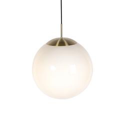 Skandinavische Hängelampe Opalglas 40 cm - Ball 40
