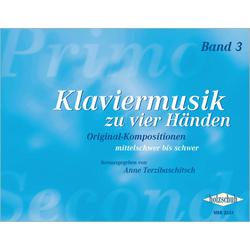 Klaviermusik zu vier Händen. Bd.3