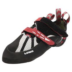 Lowa X-BOULDER Grau Rot Alpin Schuhe, Grösse: 41 (7 UK)
