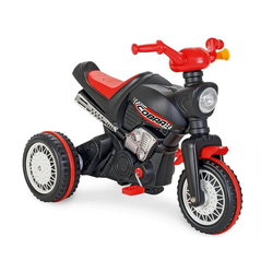 Pilsan Dreirad Dreirad Cobra 07323, Motorrad-Design, Tröte am Lenker, Pedale, ab 3 Jahre