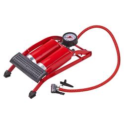 Standluftpumpe Luftpumpe Tretluftpumpe mit Doppelzylinder