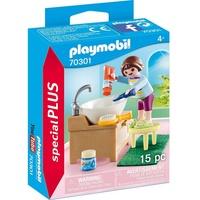Playmobil Special Plus Mädchen beim Zähneputzen 70301