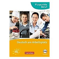 Pluspunkte Beruf: Pluspunkte Beruf - A2-B1+. Matthias Merkelbach  Joachim Becker  - Buch