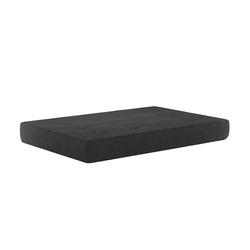 Oskar Palettenkissen Palettenkissen Sitzkissen Palettenmöbel 15 cm hoch Anthrazit grau