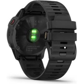 Garmin fenix 6X Pro schwarz mit schwarzem Armband