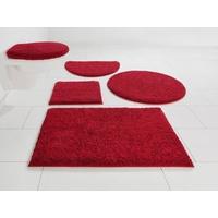 Home Affaire Badematte Maren Home affaire Höhe 15 mm, rutschhemmend beschichtet, fußbodenheizungsgeeignet, Bio-Baumwolle rot 1