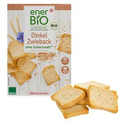 enerBiO Dinkel Bio-Zwieback 200,0 g