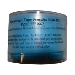 KINESIOLOGIE Tape 5 cmx5 m blau 1 St