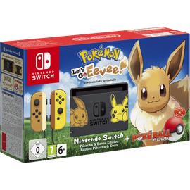 Nintendo Switch grau + Pokemon: Let's Go, Evoli! (Bundle)
