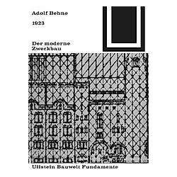 Der moderne Zweckbau (1929). Adolf Behne  - Buch