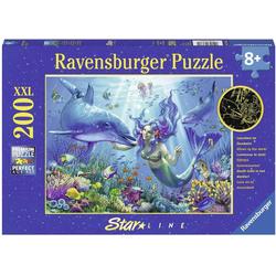Ravensburger Puzzle Leuchtendes Unterwasserparadies, 200 Puzzleteile, leuchtet im Dunkeln, Made in Germany, FSC® - schützt Wald - weltweit