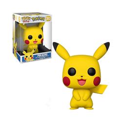 Funko Actionfigur Pop Games - Pokémon S1 - Pikachu, 25 cm