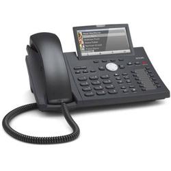 SNOM D375 Systemtelefon,VoIP Freisprechen, Headsetanschluss Farb-TFT/LCD Schwarz