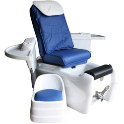 1476 SPA Fuápflegestuhl mit Massage / Sitz blau