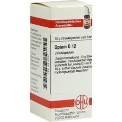 OPIUM D 12 Globuli 10 g