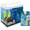 Tetra TETRA Aquarien-Set AquaArt LED, weiß, 30 Liter, inkl. GC 30 Bodenreiniger weiß