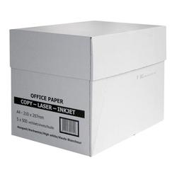 Kopierpapier, Druckerpapier A4 80g Verkaufseinheit = 1 Kiste (2.500 Blatt)