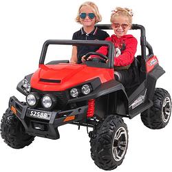 Kinder Elektroauto Maverick Offroad Buggy rot-kombi