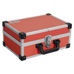 IRONSIDE Alu Werkzeugkoffer rot 330x230x150mm