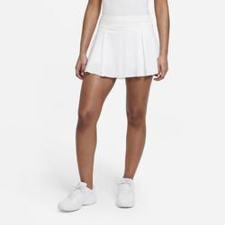 Nike Club Skirt kurzer Tennisrock für Damen - Weiß, size: L