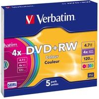 Verbatim DVD+RW 4,7GB 4x 5er Jewelcase