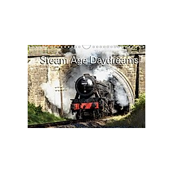 Steam Age Daydreams (Wall Calendar 2021 DIN A4 Landscape)