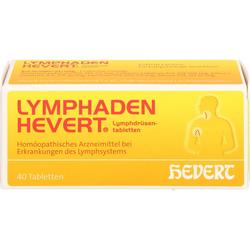 LYMPHADEN HEVERT Lymphdrüsen Tabletten 40 St.