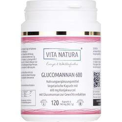 KONJAKWURZEL Glucomannan 600 mg Vegi-Kapseln 120 St
