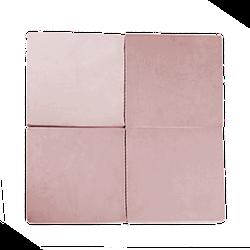 Matte - Quadratisch Pink