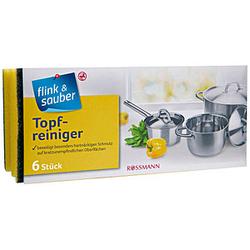 flink & sauber Topfreiniger 6 St.