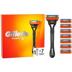 Gillette Fusion 5 Rasierer Herren mit 8 Rasierklingen mit Anti-Irritations-Klingen für bis zu 20 Rasuren pro Rasierklinge, aktuelle Version