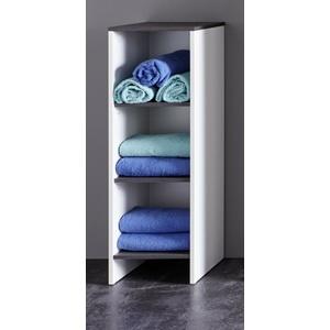 Bad Unter Schrank Regalschrank Universal weiß grau Badezimmer Kommode California