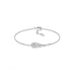Elli Armband Flügel Kristalle 925 Silber