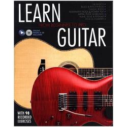 Learn Guitar als Buch von Editors of Jawbone Press