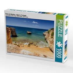 Praia de Albufeira - Algarve, Portugal Lege-Größe 64 x 48 cm Foto-Puzzle Bild von TomKli Puzzle