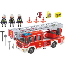 Playmobil City Action Feuerwehr-Leiterfahrzeug