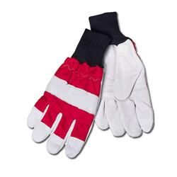 Motorsägen Handschuhe mit Schnittschutz, Größe L/ 10