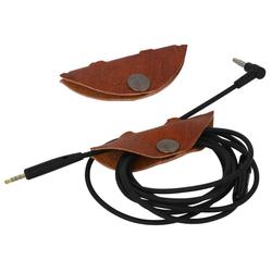 Gusti Leder Jarl Kabelzubehör, (Kabelorganizer Kabelbinder Kopfhörerkabelhalter)