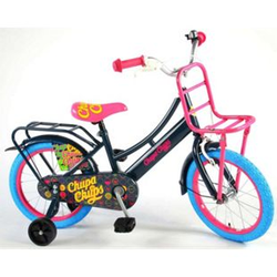 16 Zoll 16´´ Kinderfahrrad Chupa Chups Mädchenrad Rad Hollandrad