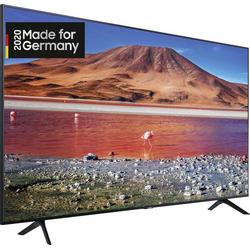 Samsung GU75TU7079 LED-TV 189cm 75 Zoll EEK G (A - G) DVB-T2, DVB-C, DVB-S, UHD, Smart TV, WLAN, CI+