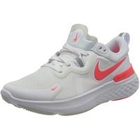 Nike React Miler W white/photon dust/photon dust/laser crimson 40,5