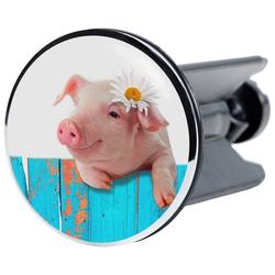 Sanilo Waschbeckenstöpsel Schwein, Ø 4 cm