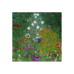 Artland Glasbild Bauerngarten. 1905-07, Blumenwiese (1 Stück) 50 cm x 50 cm x 1,1 cm