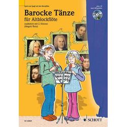Barocke Tänze als Buch von