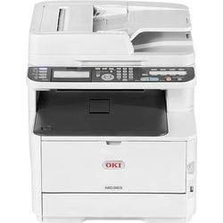 OKI MC363dn Farblaser Multifunktionsdrucker A4 Drucker, Scanner, Kopierer, Fax LAN, Duplex, Duplex-A