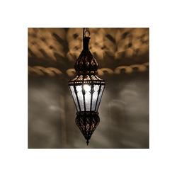 Casa Moro Lampenschirm Marokkanische Deckenlampe Nura Blau handgefertigte orientalische Lampe aus Marokko